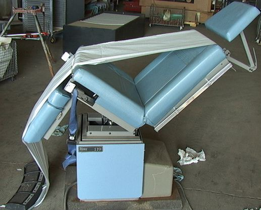 Hydraulic Power Chair : Hydraulic power doctors dentists patient chair ritter ebay